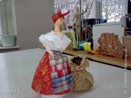 Кукла,  по мотивам повести Н. В. Гоголя, бумагопластика фото 2