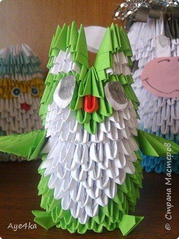 Оригами модульное: Совенок))