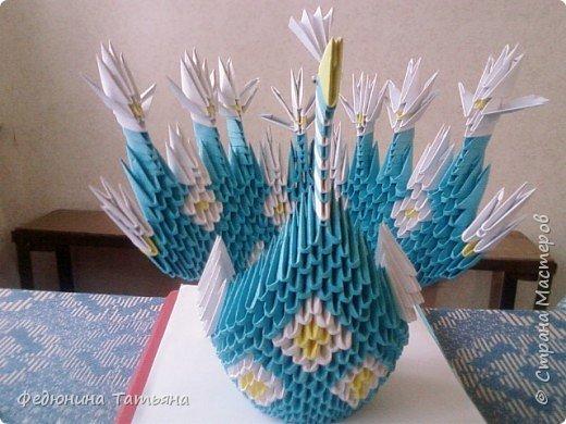 Оригами модульное: Наши поделки фото 2