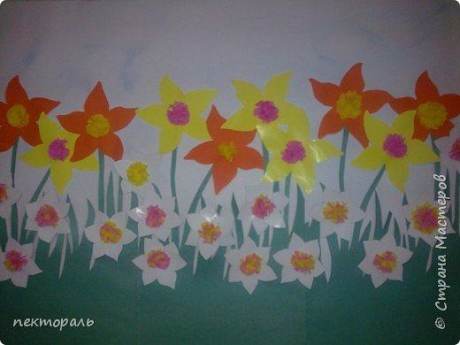 Аппликация: Цветочное настроение - 3