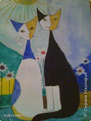 Рисование и живопись: Кошки