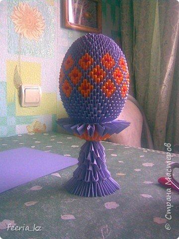 Оригами модульное: пасхальное яичко