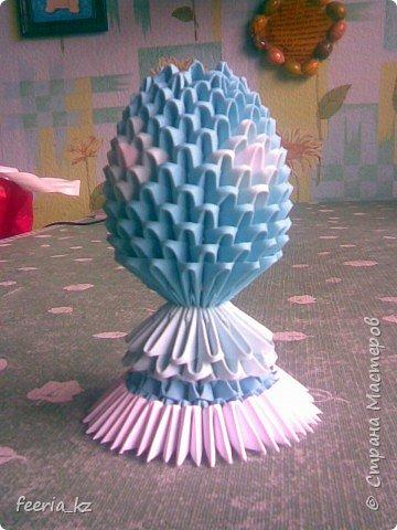 Оригами модульное: Пасхальное яичко фото 1