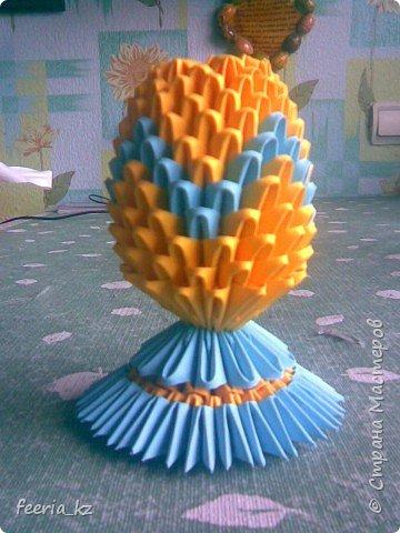 Оригами модульное: Пасхальное яичко фото 2