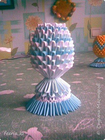Оригами модульное: Пасхальное яичко фото 3