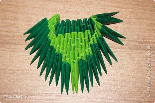 Оригами модульное: Рыбка в море фото 12