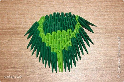 Оригами модульное: Рыбка в море фото 14