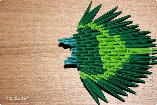 Оригами модульное: Рыбка в море фото 16