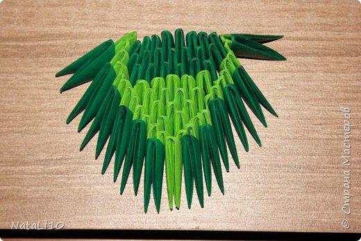 Оригами модульное: Рыбка в море фото 13