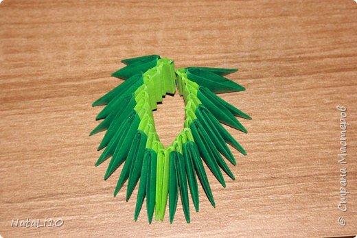 Оригами модульное: Рыбка в море фото 6