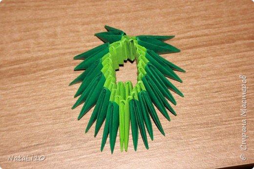 Оригами модульное: Рыбка в море фото 7