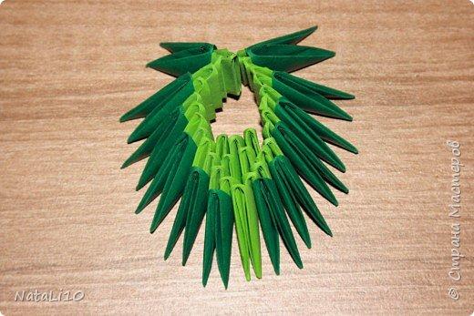 Оригами модульное: Рыбка в море фото 8