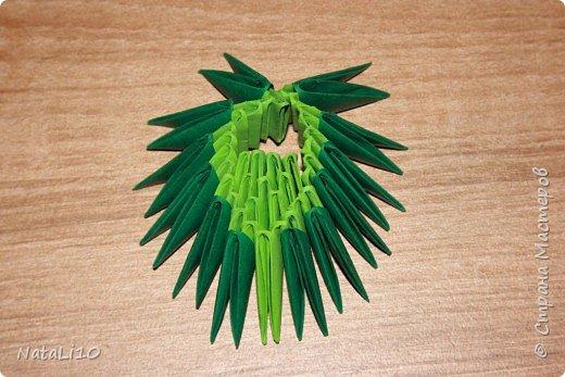 Оригами модульное: Рыбка в море фото 9