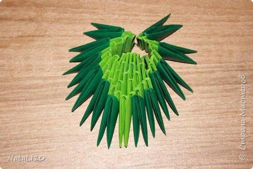 Оригами модульное: Рыбка в море фото 10
