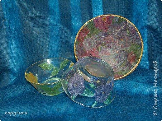 Декупаж: Посудные фантазии фото 2