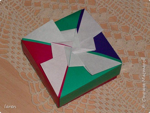 Оригами: Korobochka