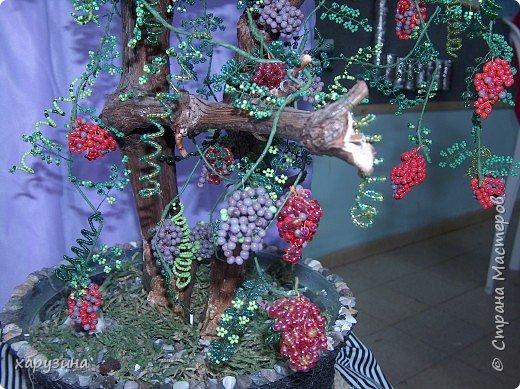 Бисероплетение: Дивный виноград фото 2