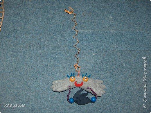 Игрушки из перчаток фото 1