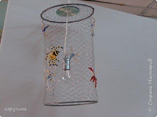 Бисероплетение, Моделирование: Лампа и напольная ваза фото 1