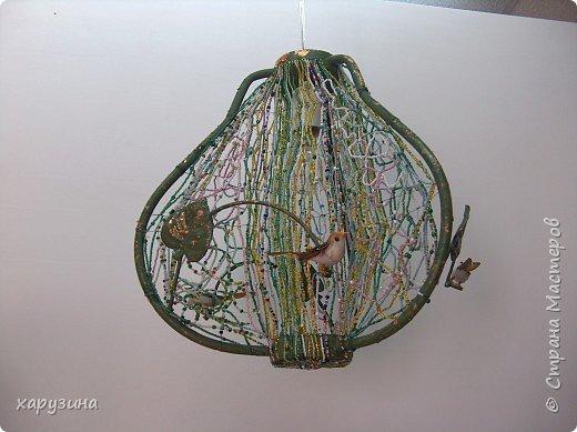 Бисероплетение: Лампа в детскую