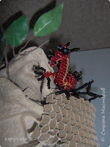 Бисероплетение: Огнедышащий дракон фото 2