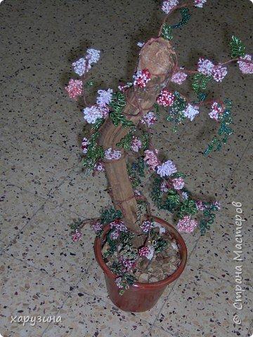 Бисероплетение: Цветущее дерево фото 1