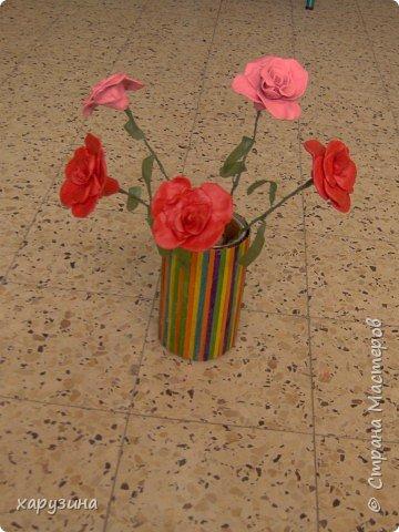 Лепка: Розовые розы... фото 1