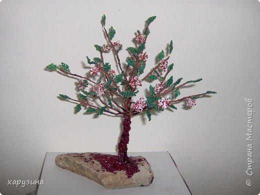 Бисероплетение: Цветущее дерево
