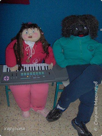Игрушка мягкая: Куклы своими руками