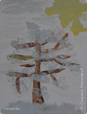 Рисование и живопись: Зимнее дерево