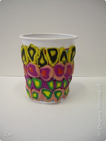 Своим любимым мамочкам мы подарим вазочки! фото 4
