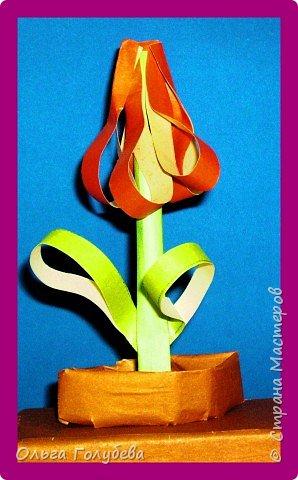 Бумагопластика: Аленький цветочек