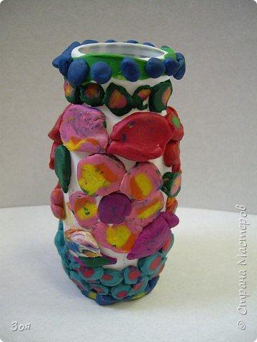 Своим любимым мамочкам мы подарим вазочки! фото 12