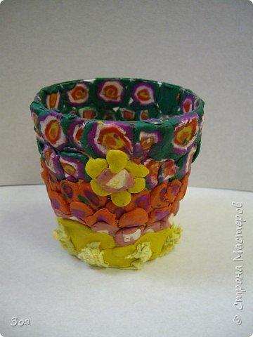 Своим любимым мамочкам мы подарим вазочки! фото 15