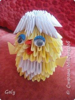 Оригами модульное: Цып-цыпыч