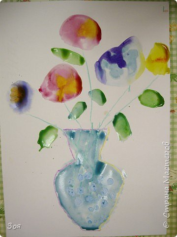 Цветы в вазе фото 1