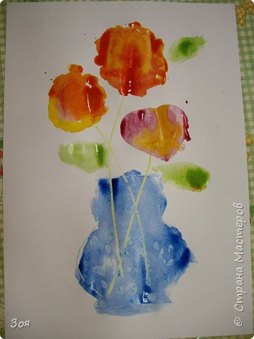 Цветы в вазе фото 2