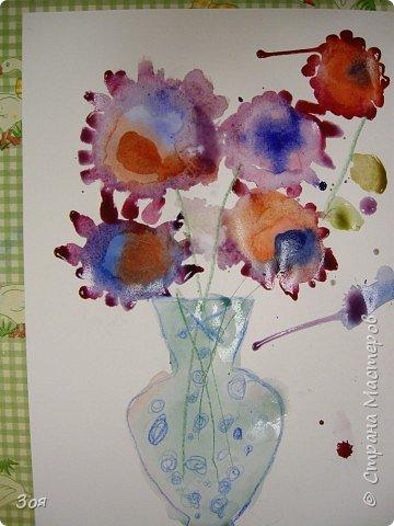 Цветы в вазе фото 5