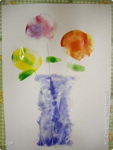 Цветы в вазе фото 6