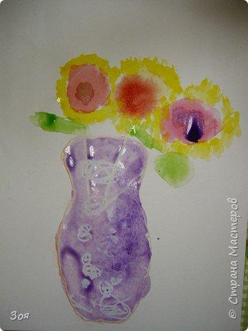 Цветы в вазе фото 7