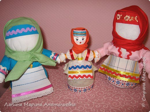 Игрушка мягкая: Кукла-крупеничка