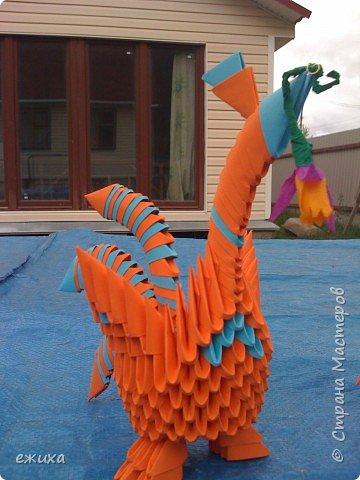 Оригами модульное: Птичья семейка фото 3