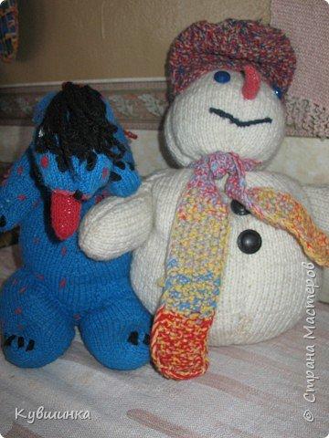 Вязание спицами: Вязаные игрушки