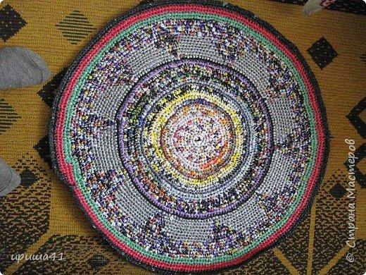 Интерьер Вязание крючком Чудо-коврики Материал бросовый фото 5