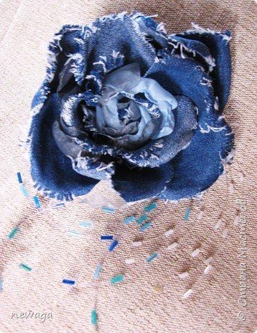 Джинсовая коллекция цветов фото 2