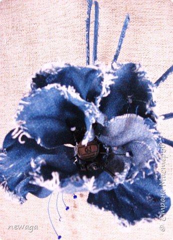 Джинсовая коллекция цветов фото 3