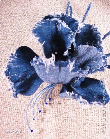 Джинсовая коллекция цветов фото 4