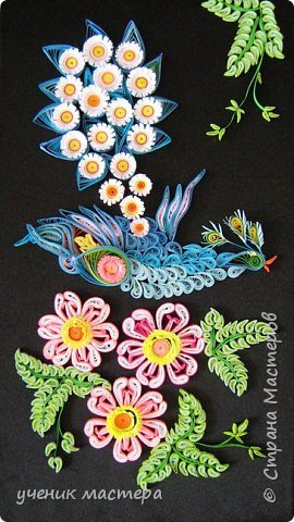 Квиллинг: Птица счастья