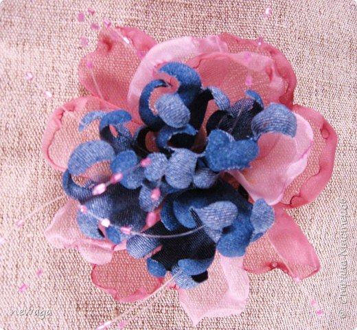 Джинсовая коллекция цветов фото 5