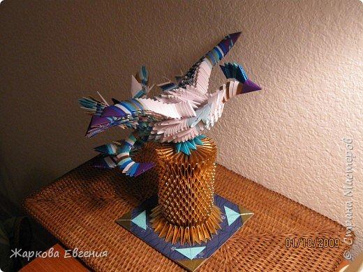 Оригами модульное: Жар-птица фото 2